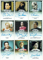 "Star Trek 50th Anniversary Aliens Expansion ""LIMITED"" Autograph Card Selection"