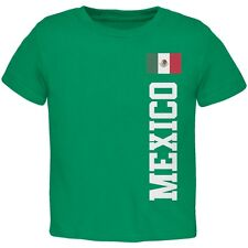 World Cup Mexico Green Toddler T-Shirt Top