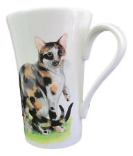 Royal Kirkham Cat Mug Fine China Made UK -Calico & Tabby Cats