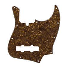 NEW Golden Pearl 4Ply JB Pickguard 10 Holes FD Jazz Bass Pickguard Scratch Plate