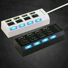Multi 4/7 Port USB HUB 3.0 Powered FAST Extender Adapter Splitter For Laptops PC