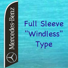 MERCEDES BENZ WINDLESS FEATHER FLAG Swooper Flutter Banner Tall Advertising Sign