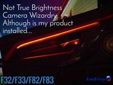 BMW 4 Series Coupe F32 F33 F82 F83 Ambient Light Insert (Front&Rear) - FLEX 2.0