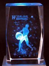 3D Laser Kristall Sternzeichen Horoskop - Wassermann