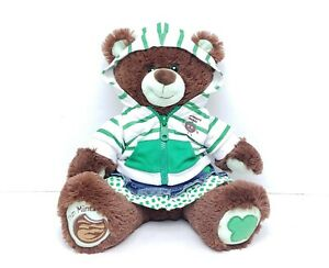 Build-a-Bear Girl Scout Thin Mint Cookie Plush Stuffed Teddy Bear w/ Outfit BABW