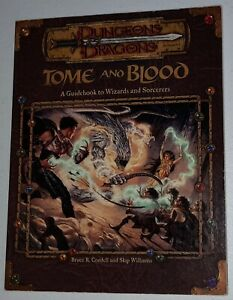 Dungeons & Dragons - Tome and Blood - 3rd Edition D&D - 2001