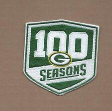 NEW 3 1/2 INCH GREEN BAY PACKERS 100 SEASONS IRON ON PATCH FREE SHIPPING