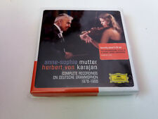 "ANNE-SOPHIE MUTTER HERBERT VON KARAJAN ""COMPLETE RECORDINGS"" 5CD BOX SET"
