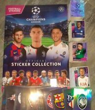 Topps Champions League 2019/2020 COMPLETE FULL  STICKERS SET 595/595