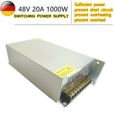 DC 48V 20A 1000W LED Netzteil Trafo Schaltnetzteil Adapter Power Supply Driver