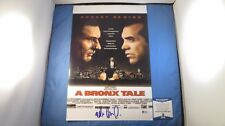 Robert DeNiro Lillo Brancato A Bronx Tale Signed 11x17 Photo BAS COA Autograph