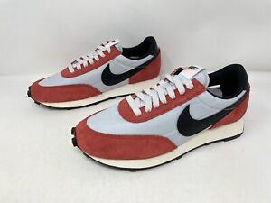 Nike Daybreak 'Pure Platinum' Red Sneaker, Size 8 M / 9.5W BNIB DB4635-001