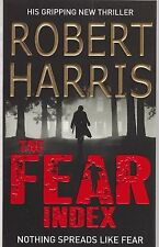 The Fear Index by Robert Harris - New Book (Paperback)