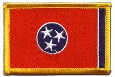 Stati Uniti Tennessee ricamate Bandiera Bandiere Patch aufbügler 8x6cm