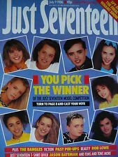 JUST SEVENTEEN MAGAZINE 9/7/86 - BANGLES - ROB LOWE - WHAM!