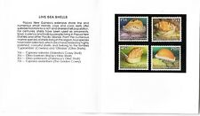 1986 Live Sea Shells Pack  Complete MUH/MNH as Issued