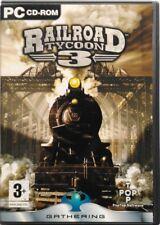 Gioco Pc Railroad Tycoon 3 - Edizione 2 dischi - Gathering Usato