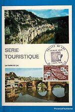 LA VALLEE DU LOT Carte Postale Maximum FDC Yt C 1807