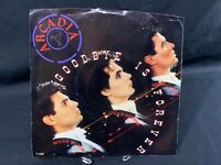 "ARCADIA: Goodbye Is Forever Vinyl Album Record LP 7"" 45 RPM Picture Sleeve"
