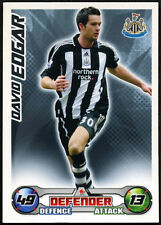 David Edgar-Newcastle United-Match Attax 08/09 tarjeta de comercio (C415)