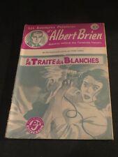 1940s ADVENTURES POLICIER ALBERT BRIEN DETECTIVE SEX MURDER FRENCH  PULP #534