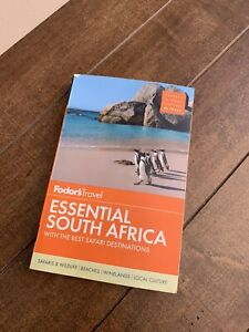 Travel Guide Fodor's Essential South Africa : With the Best Safari...