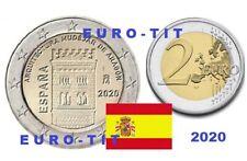 2 €   ESPAGNE  COMMEMORATIVE   2020  1  X  PIECE     ARAGON    2020   disponible