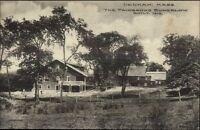 Dedham MA Fairbanks Bungalow c1910 Postcard #2