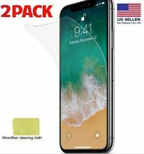 Iphone 11 Pro, XS and X Screen Protector Clear Transparent FilmGuard Plastic 2X