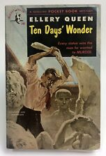TEN DAYS' WONDER Ellery Queen POCKET BOOK Mystery MURDER