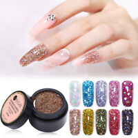 UR SUGAR 15ml Sparkling Tips Extension UV Gel Nagellack Nail Art Quick Building