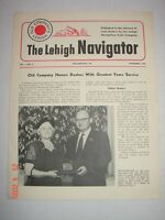 LVRR CO - The LEHIGH NAVIGATOR - Vol. 1 No. 8 Nov. 1952 - OLD COMPANY'S LEHIGH