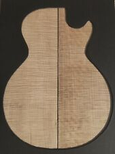 """Private Reserve EASTERN MAPLE """"Fine Fiddleback"""" Guitar Top Matched Set No.4-5.72"""