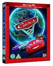 Blu Ray CARS 2 tru 3D and 2D. Walt Disney Pixar. Brand new sealed with slipcover