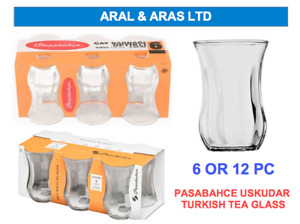 ✅ PASABAHCE Uskudar *Turkish Tea* Glass Set - With Branded Packaging (6 OR 12)