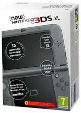 CONSOLE NEW NINTENDO 3DS XL NERO METALLICO ORIGINALE ITALIANO SIGILLATO