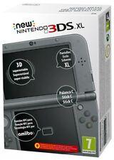 CONSOLE NEW NINTENDO 3DS XL NERO METALLICO ORIGINALE ITALIANO SIGILLATO