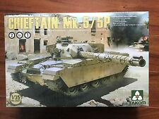 Takom 1/35th Scale Chieftain Mk. 5/5P British Main Battle Tank Kit No. 2027 F/S