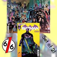 🚨🦇 BATMAN #106 SET OF 2 Cvr A & B Wraparound Jimenez 🔑 1st App MIRACLE MOLLY