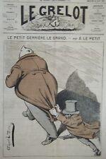 JOURNAL LE GRELOT PAR LE PETIT  N° 154  1874