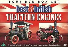 BEST OF BRITISH TRACTION ENGINES - 4 DVD BOX SET