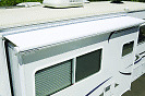 """RV TRAILER CAMPER AE DOMETIC FACTORY SLIDE OUT FITS 86""""-  92"""" WHITE FABRIC ONLY"""