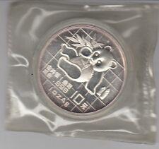 China  10 Yuan  Panda  1989      Silber  Unze