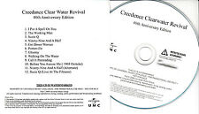 CREEDENCE CLEARWATER REVIVAL Debut 40th UK 12-trk numbered promo test CD