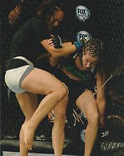 MICHELLE WATERSON SIGNED AUTO'D 8X10 PHOTO UFC ON FOX INVICTA FC KARATE HOTTIE B