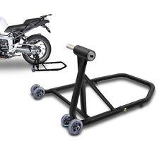 Motorbike rear paddock stand Honda CB 1000 R 08-16 black mat single swing arm