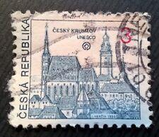 Czechoslovakia stamps -Český Krumlov Castle UNESCO - 3 koruna 1992