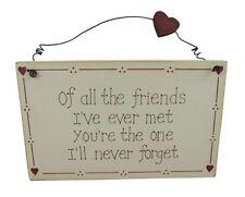 Best Friend Rectangle Pictorial Decorative Plaques & Signs