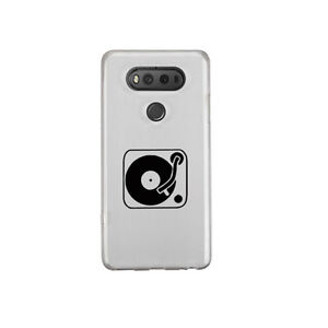 DJ Turntable Sticker Die Cut Music Decal for mobile cell phone Smartphone iPhone