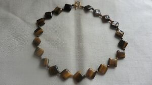 Real Tiger's Eye Necklace